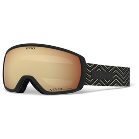 Giro Facet Maschera Donna, black zag/vivid copper
